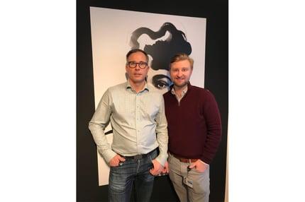 Carl-Johan Rosén och Anders Savbring webb